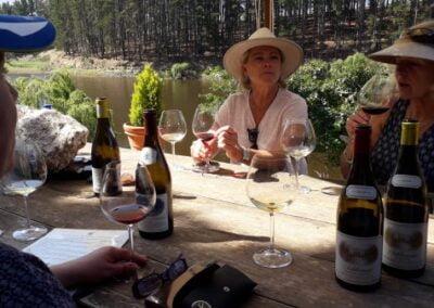 A wine-walk Hamilton Russel wine tasting