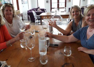Wine-walk Wine tasting at Ataraxia