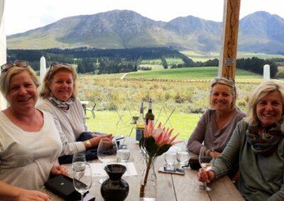 Wine tasting at Bosman winery