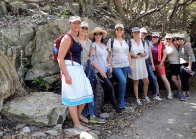 Wine walk Cliff path walk