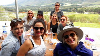 wine walk Lunch at Moggs Country Kitchen