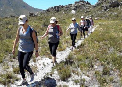 Wine-walk to Spookfontein